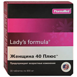Lady's formula Женщина 40 Плюс