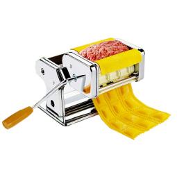 Машинка для раскатки теста и равиоли Gusto Pasta/Ravioli Maker