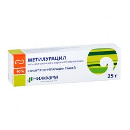 Метилурацил 10% 25г №1