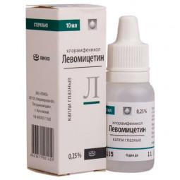 Левомицетин 0.25%