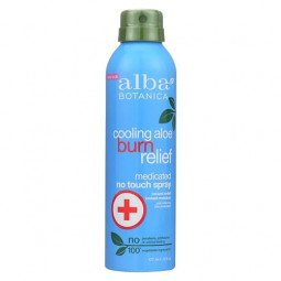 Alba Botanica Cooling Aloe Burn Relief Spray