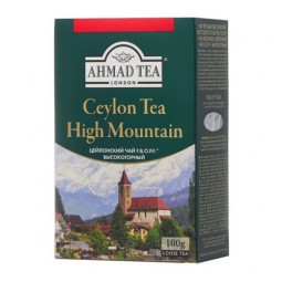 Ahmad tea Ceylon tea F.B.O.P.F. high mountain