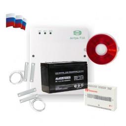 Охранная сигнализация для дома на одну зону и отечественный датчик угарного газа