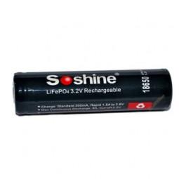 Soshine, LiFePO4 (Protected)