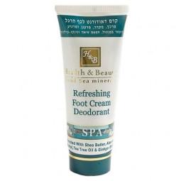 Крем-дезодорант для ног Health & Beauty
