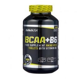 BCAA BioTechUSA BCAA+B6 (200 таблеток)