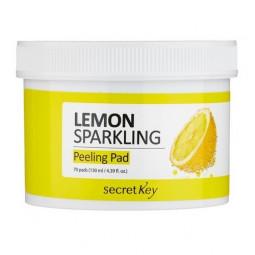 Secret Key Lemon sparkling peeling pad