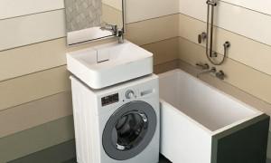 Рейтинг лучших моделей раковин над стиральной машиной 2020 года для владельцев малогабаритных квартир