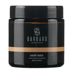 Barbaro Hair Wax Matt Effect