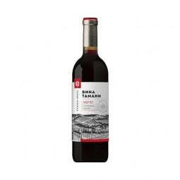 Вино Вина Тамани Мерло сухое 0.7 л