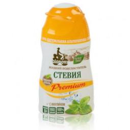 BIONOVA Подсластитель Стевия Premium с инулином, жидкость