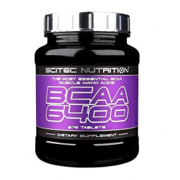 BCAA Scitec Nutrition BCAA 6400 (375 таблеток)