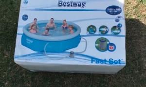 Хороший надувной бассейн за свою цену