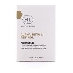 Holy Land Alpha-beta & Retinol Peeling Pads