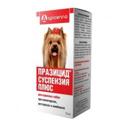 Apicenna, Празицид-суспензия Плюс для взрослых собак