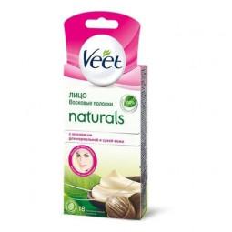 Veet Naturals с маслом ши