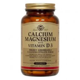 Солгар Кальций-Магний-Витамин Д3