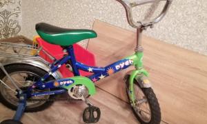 Мощный велосипед, но не для четырёх летнего ребенка