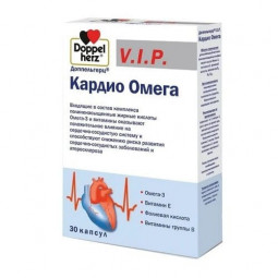 Queisser Pharma Доппельгерц VIP кардио омега