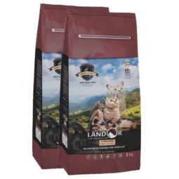Landor с кроликом, с рисом