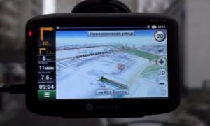 Бюджетная модель GPS- навигатора с хорошими функциями