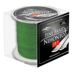 Mikado NIHONTO FINE BRAID 0.25 green (300 м)