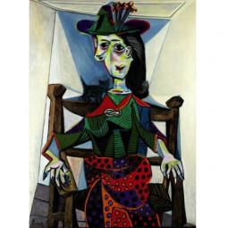 Пабло Пикассо «Портрет Доры Маар»