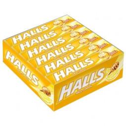 Halls мёд и лимон