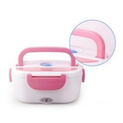 Ланч-бокс с подогревом 220 В Electric Lunch Box, розовый