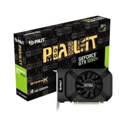 Palit GeForce GTX 1050 Ti 1290MHz PCI-E 3.0 4096MB 7000MHz 128 bit DVI HDMI DisplayPort HDCP StormX