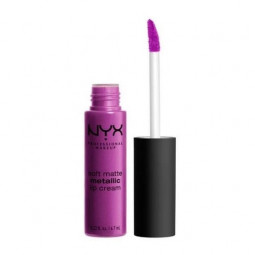 NYX Professional, Makeup SOFT MATTE METALLIC LIP
