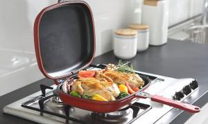 Готовим любимые блюда: рейтинг лучших моделей двухсторонних сковородок 2021 года