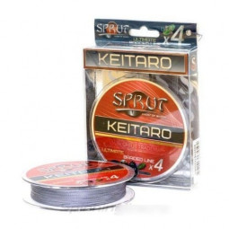 Keitaro Ultimate Braided Line x4 140 м 0.14 мм Space Gray