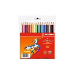STABILO Цветные карандаши Trio thick short