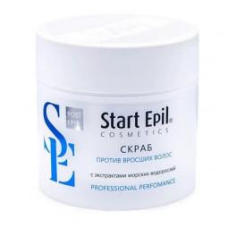 Start Epil, Скраб против вросших волос с экстрактами морских водорослей