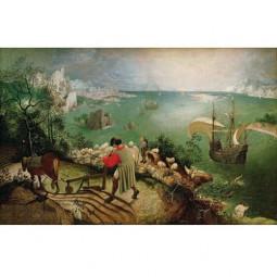 Питер Брейгель «Пейзаж с падением Икара»