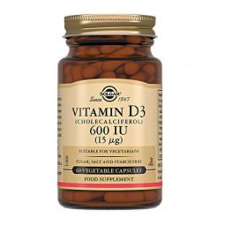 SOLGAR, Vitamin D3 600 МЕ