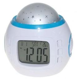 Hauzer Часы-будильник с проектором