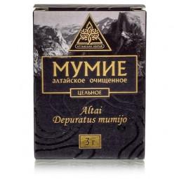 Алтайский нектар Мумиё алтайское очищенное цельное