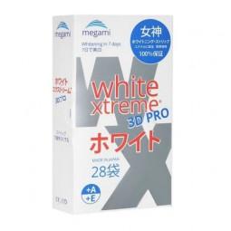 Megami отбеливающие полоски White Xtreme 3D PRO