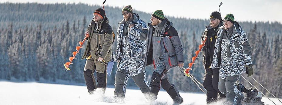 Костюм для зимней рыбалки. Рейтинг лучших зимних костюмов