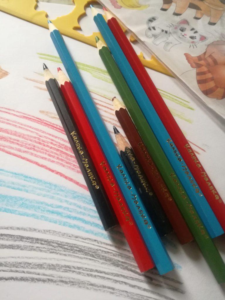 Качественные цветные карандаши