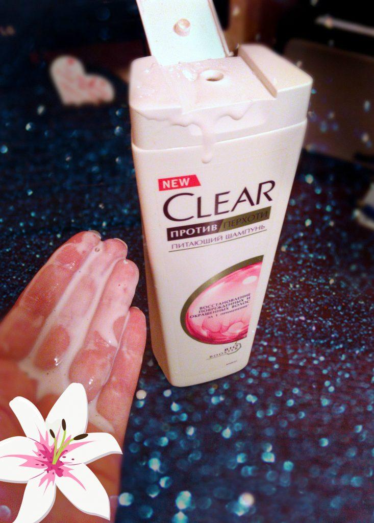 Обзор шампуня Сlеаr vita abe «Восстановление поврежденных и окрашенных волос» от перхоти.