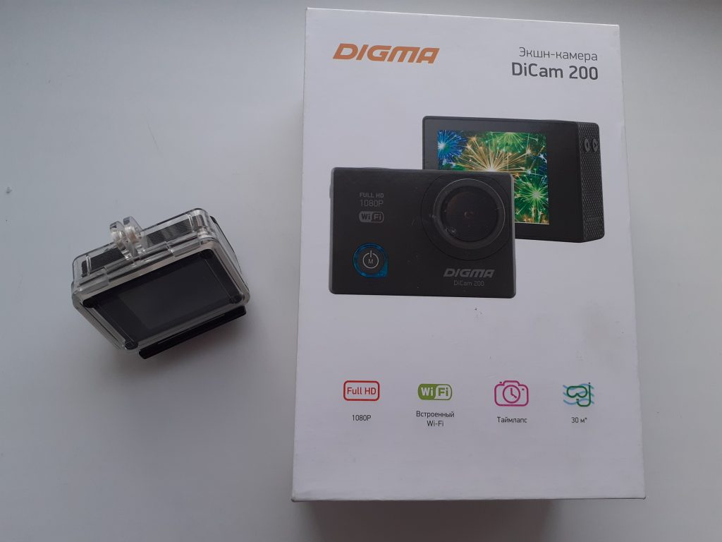 Компактная стильная камера
