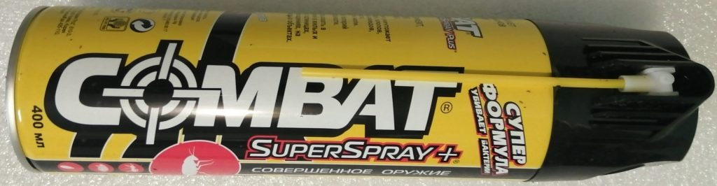 Средство от насекомых Combat Spray Super