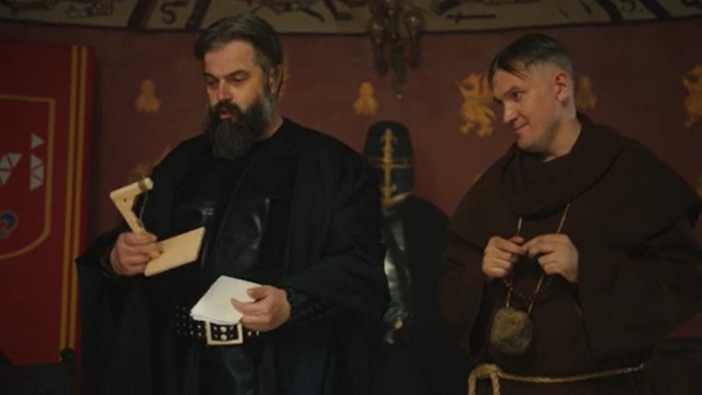 ЧУМА! - юмористическое послание средневековых людей своим потомкам