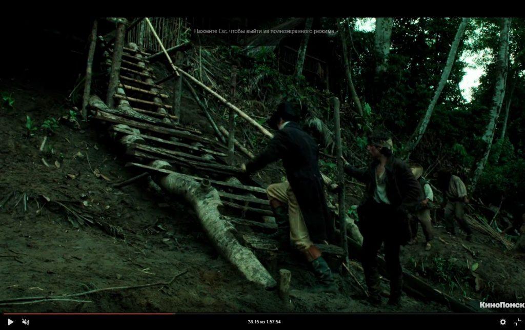 Неплохой фильм для вечернего просмотра с красивыми джунглями америки