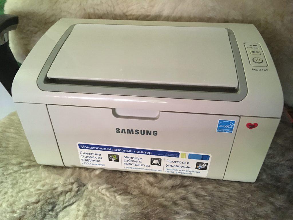 Простой и надежный принтер Samsung ML-2165