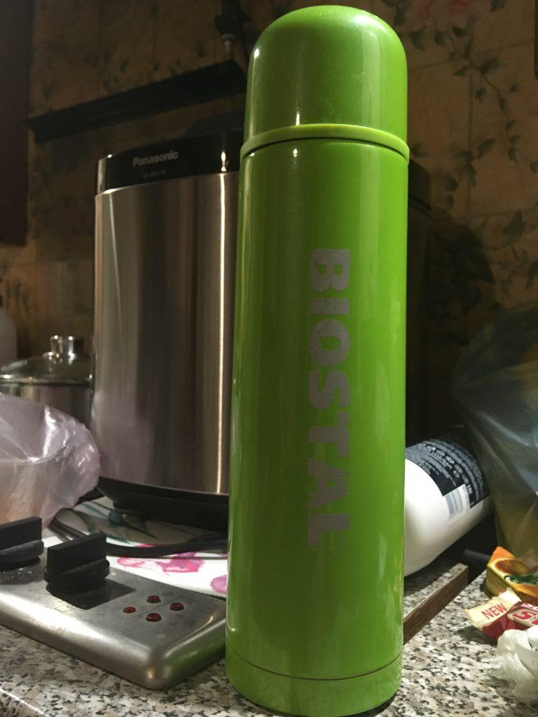 Всегда горячий чай с термосом Биосталь